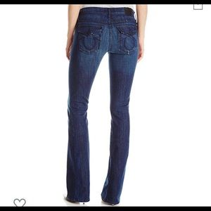 True Religion Becca Midrise Bootcut Jeans Size 28